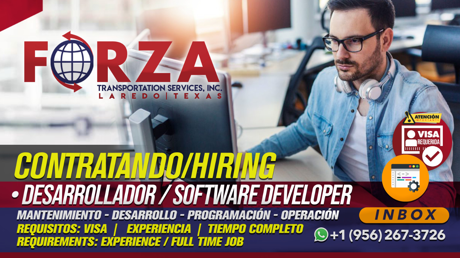 Hiring Software Developer